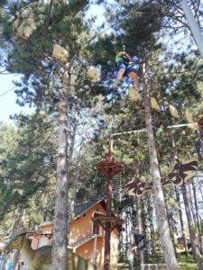 Ponovo radi Avantura park na Šumaričkom jezeru