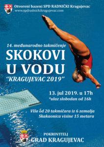 Read more about the article Međunarodno takmičenje u visinskim skokovima u vodu u Kragujevcu