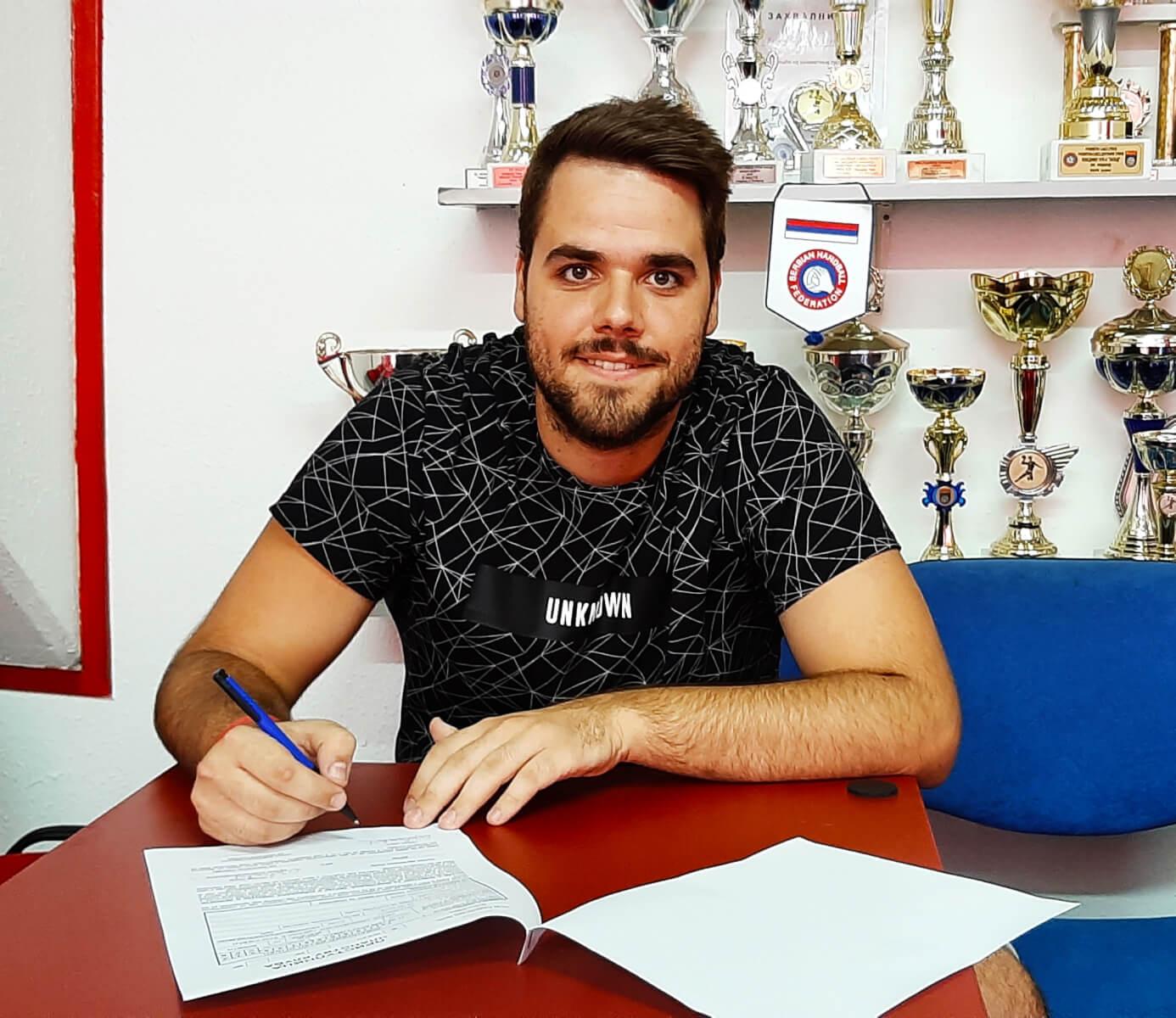 Read more about the article Ognjen Jovanović ponovo u Radničkom