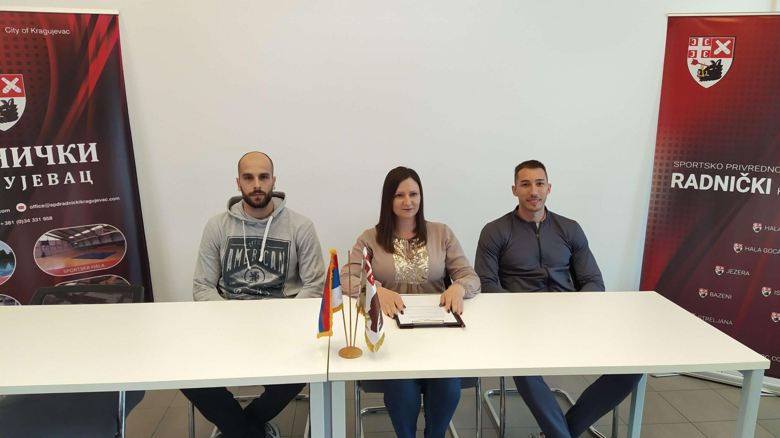 Read more about the article Odbojkaši Radničkog spremni za megdan sa Partizanom