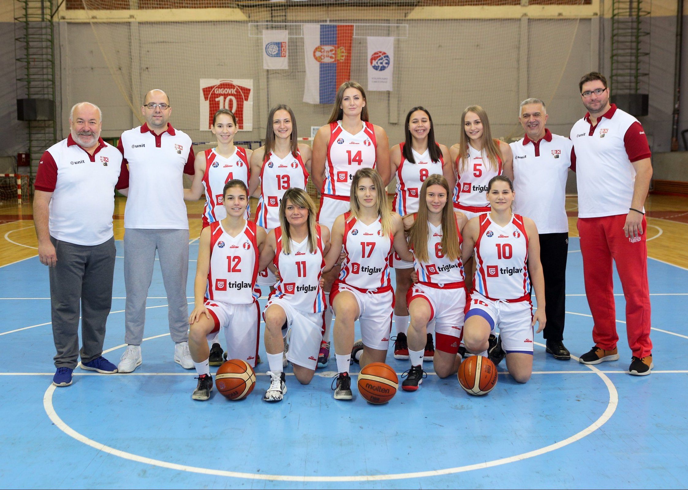 Košarkašice Radničkog u zlatnoj sredini