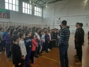 """Promocija škole sporta SPD """"Radnički"""" u Osnovnoj školi """"Živadinka Divac"""""""