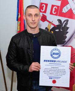 Srđan Ristić i zvanično Ginisov rekorder