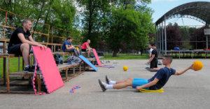 Read more about the article Mladi vaterpolisti Radničkog krenuli sa grupnim treninzima na suvom