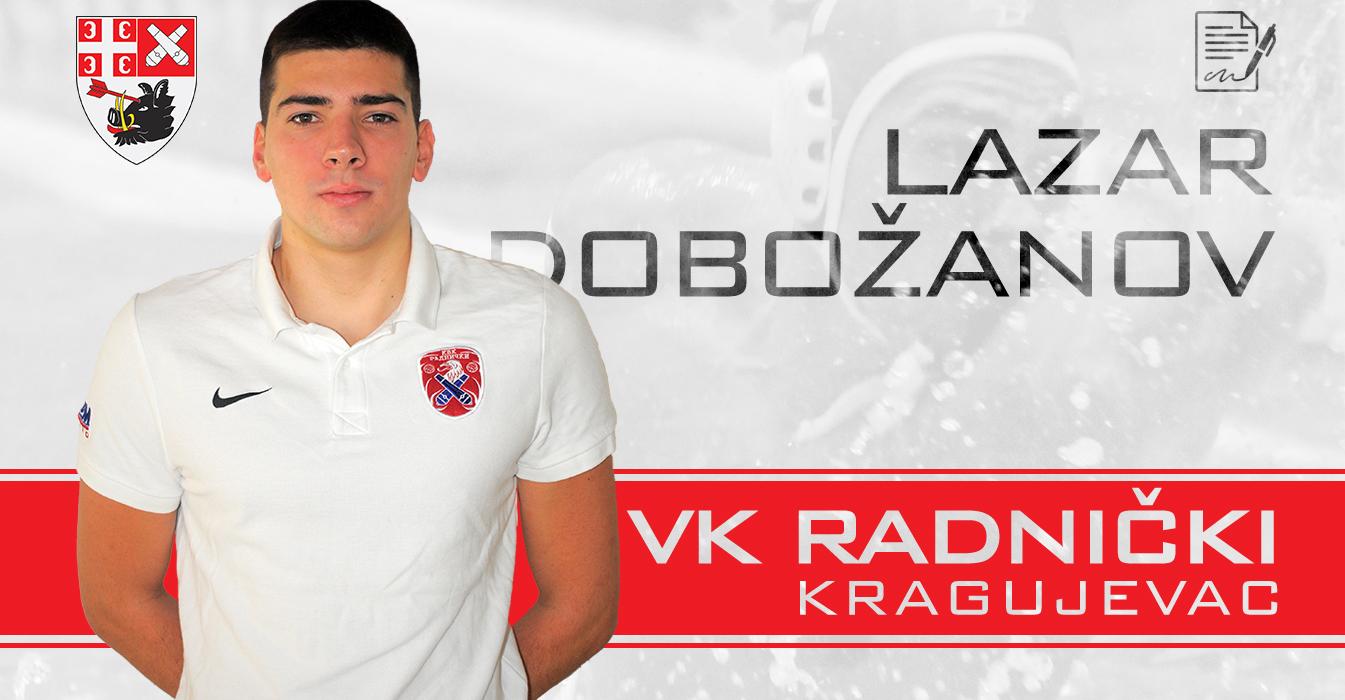 You are currently viewing Reprezentativac Dobožanov čuva mrežu Radničkog i naredne sezone