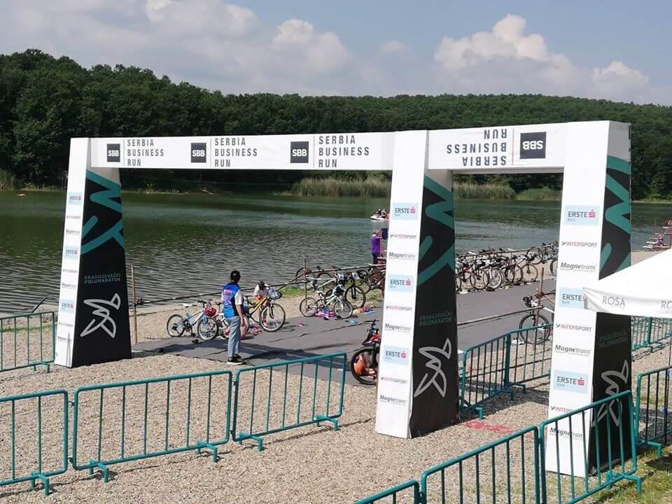 Državno prvenstvo u kros triatlonu na Šumaričkom jezeru