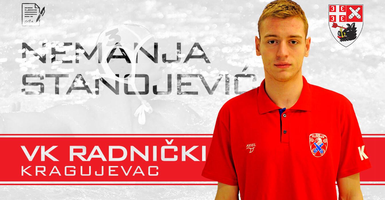 Mladi reprezentativac Stanojević produžio vernost Radničkom