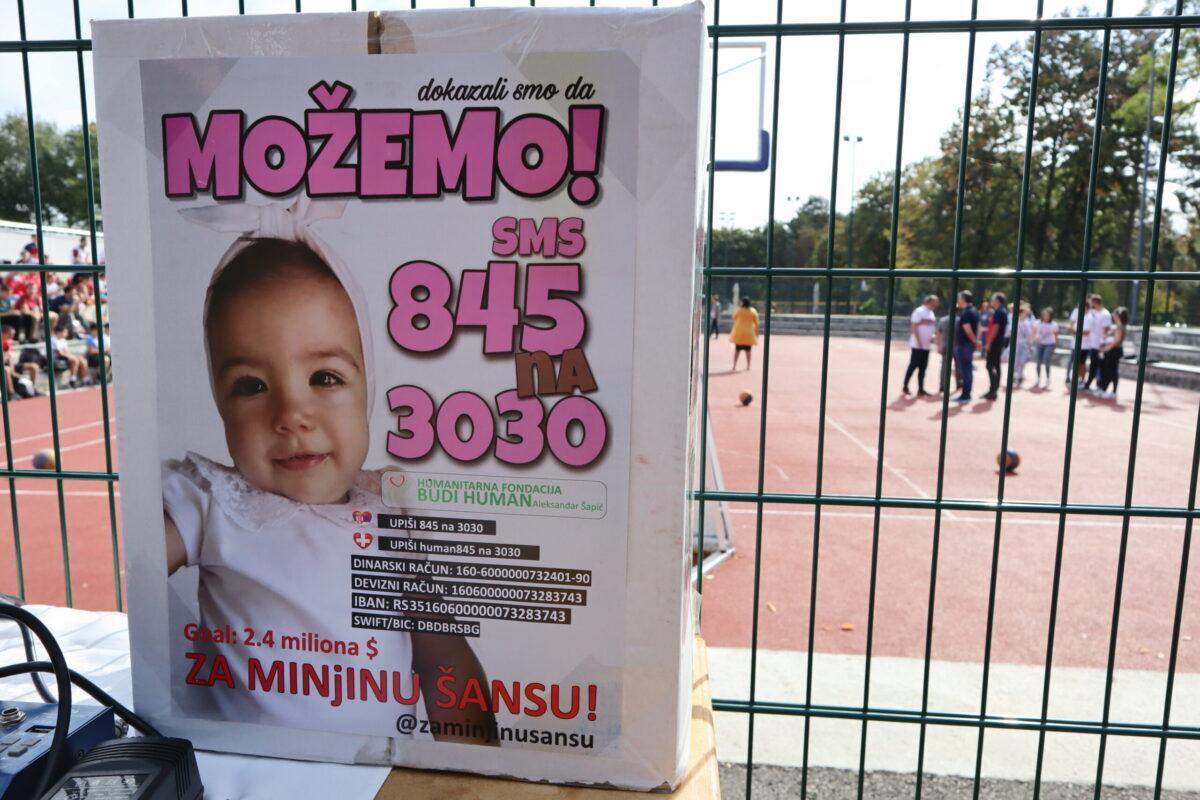 Sport u funkciji humanosti: Kragujevčani u borbi za Minjino srećnije detinjstvo