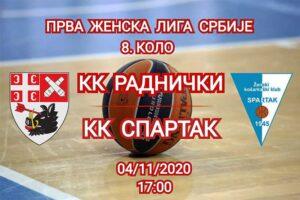 Košarkašice Radničkog dočekuju subotički Spartak u derbiju začelja