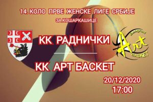 Kragujevčanke protiv Art basketa hvataju zalet za odlučujuće mečeve