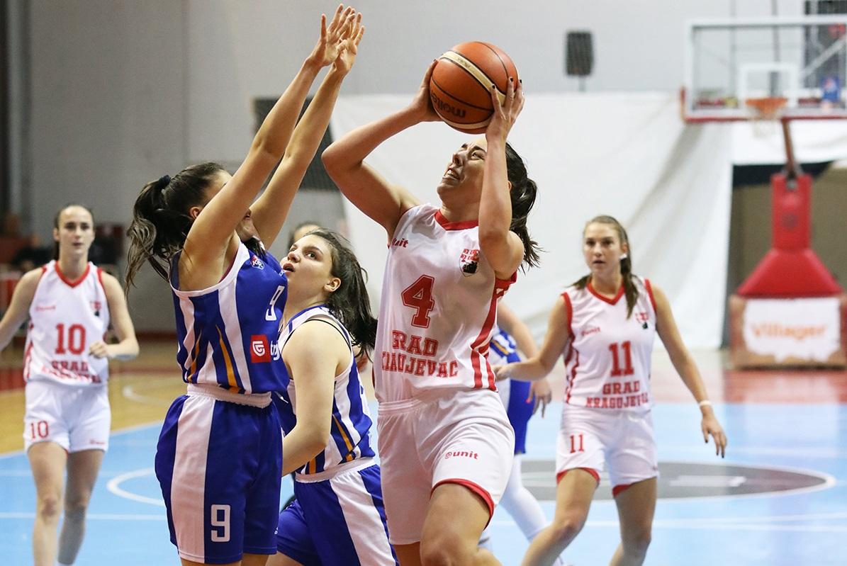 Read more about the article Kragujevčanke za korak bliže opstanku u ligi