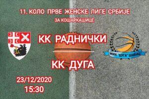 Read more about the article Košarkašice Radničkog traže beg iz opasne zone