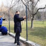 Saniran deo ograde oko Kreativnog parka