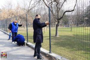 Read more about the article Saniran deo ograde oko Kreativnog parka