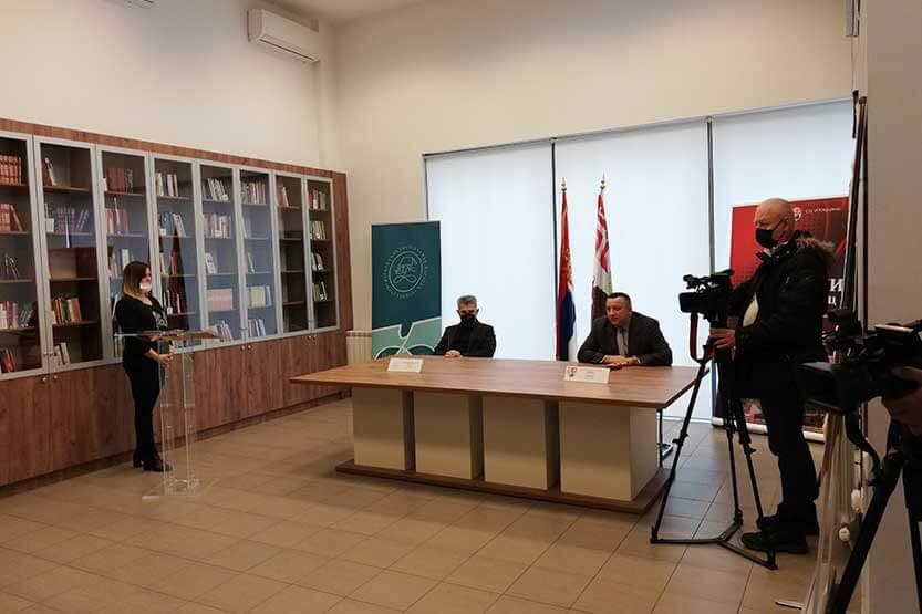 "Read more about the article Otvoren ogranak Narodne biblioteke u SC ""Iskra"""