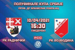 Read more about the article Radnički maksimalno motivisan pred polufinale Kupa