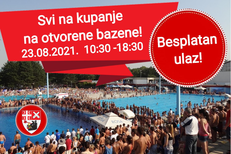 Read more about the article Besplatan ulaz za sve posetioce otvorenih bazena