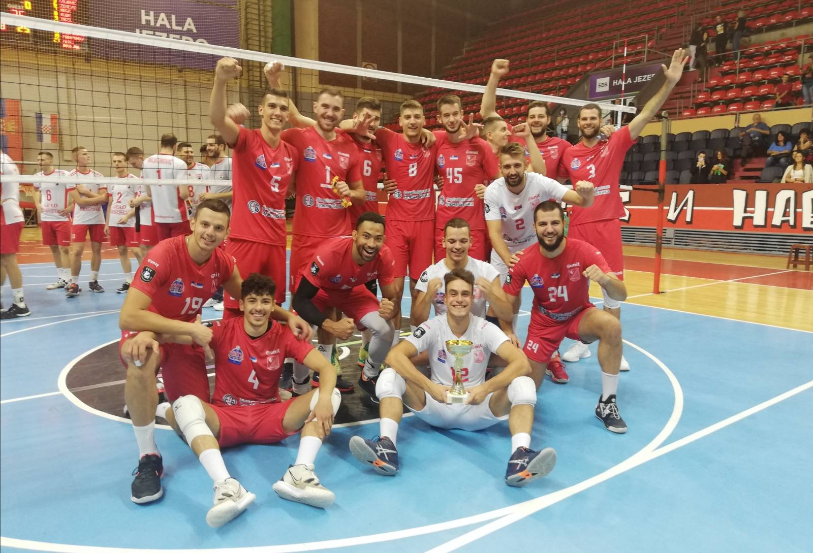 """Read more about the article Odbojkaši Vojvodine pobednici memorijalnog turnira """"Legende Radničkog"""""""